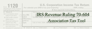 IRS Revenue Ruling 70-604